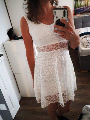 Vestido elástico blanco