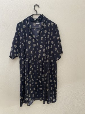 Noisy May Robe chemise bleu foncé