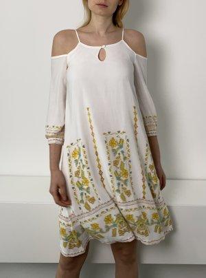 Sukienka typu babydoll Wielokolorowy Wiskoza