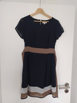 Apricot Shortsleeve Dress multicolored polyester