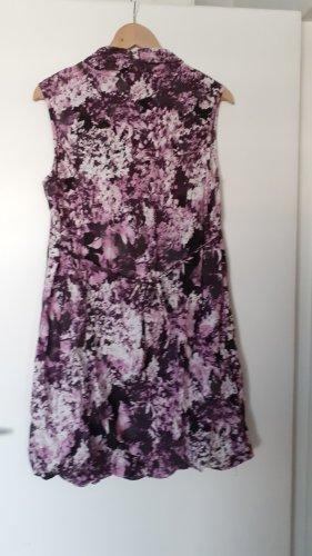 Gina Laura Stretch Dress bordeaux-light pink