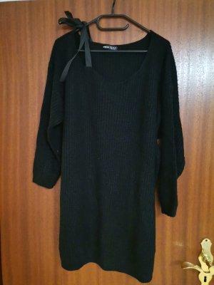 SheIn Sweater Dress black