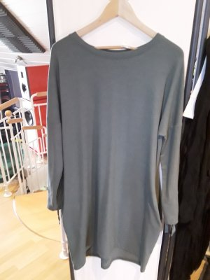 Rainbow Sukienka dresowa srebrny-szaro-zielony