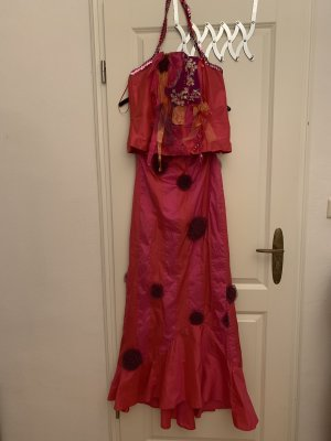 Anja Gockel Robe de soirée multicolore