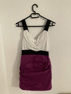Windsor Mini Dress white-violet
