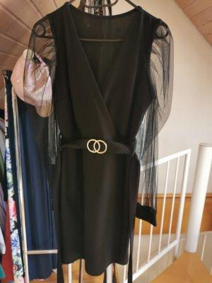 aus Italien Longsleeve Dress black