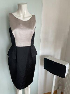 your Sixth sense  c&a Peplum Dress black-white