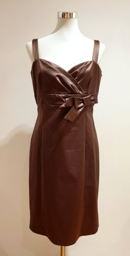 1.2.3. UN DEUX TROIS Paris Suknia wieczorowa brązowy