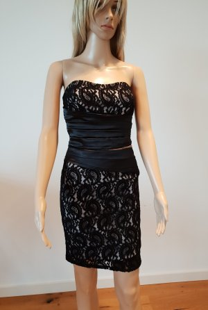 Made in Italy Evening Dress white-black