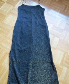 Kleid, Abendkleid, Gr.40/42, schwarz-gold