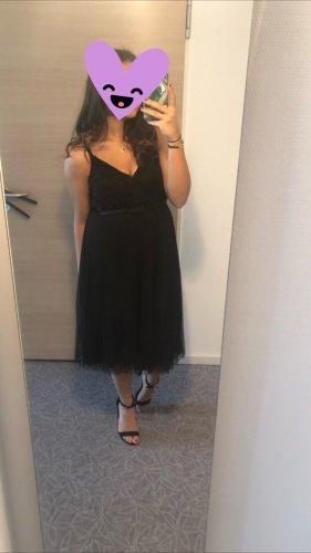 Asos Petite Midi-jurk zwart
