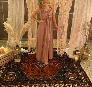ASOS DESIGN Maxi-jurk stoffig roze-rosé