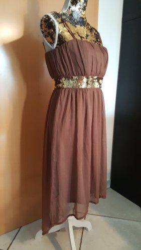 Kleid Abendkleid von Melrose Gr. 38 vokuhila