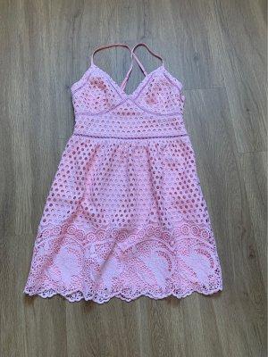 Abercrombie & Fitch Sukienka gorsetowa łosowiowy-różany