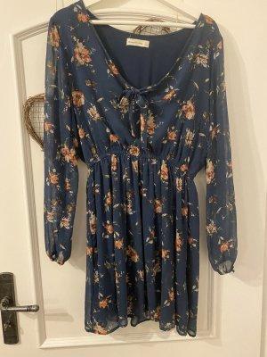 Abercrombie & Fitch Sukienka z długim rękawem Wielokolorowy