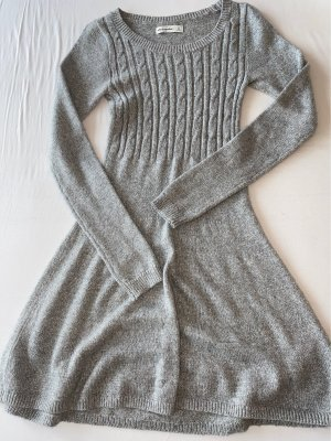 Abercrombie & Fitch Longsleeve Dress light grey-silver-colored