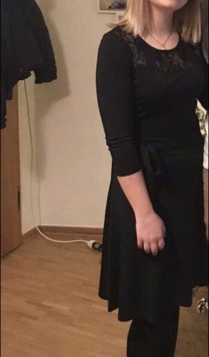 About You Kanten jurk zwart