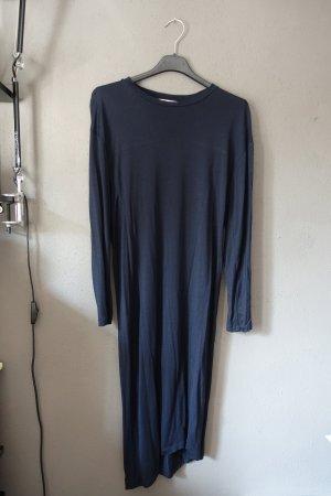 Kleid, Acne Studios, dunkelblau, asymmetrisch, navy, Evira Tencel Paw17, marine