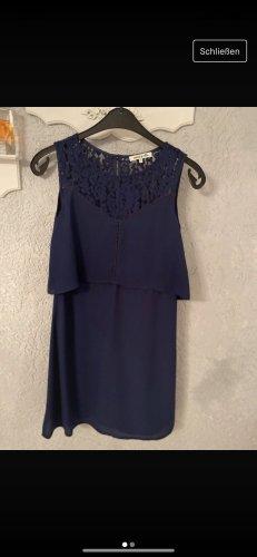 anna & ella Mini-jurk donkerblauw