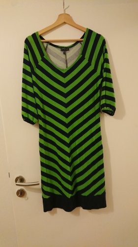 Apart Midi Dress dark blue-green viscose
