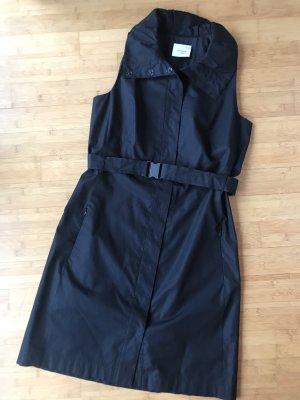 Kleid,  AKRIS punto, Baumwolle, schwarz, Gr. 40