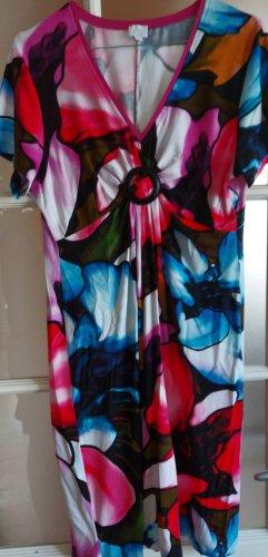 Alba Moda Robe d'été multicolore