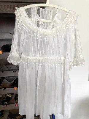 Alexander McQueen Beach Dress white