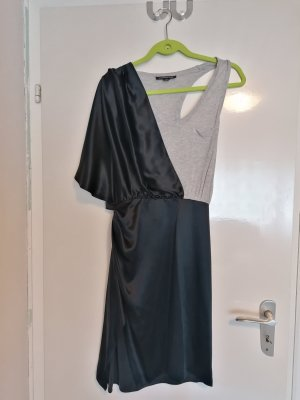 Alexander McQueen Midi Dress black-light grey