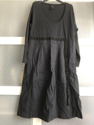 Alpha Sukienka midi niebieski-czarny