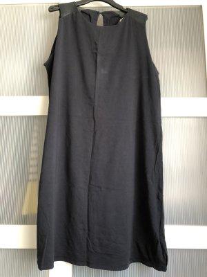 Alpha Falda estilo lápiz gris-azul oscuro