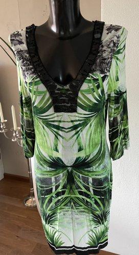 Kleid Ana Alcazar Gr. 38- neu mit Etikett-grün/schwarz/weiß