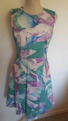 Angelo Marani A-lijn jurk veelkleurig