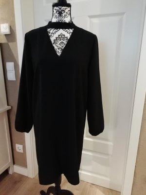 Aniston Robe à manches longues noir