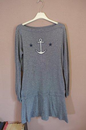 Kleid, Anker, Sterne, gestreift, maritim, See by Chloé, ungetragen, Sailor Dress, Streifen, Sweater