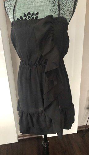 Ann Christine Vestido strapless negro