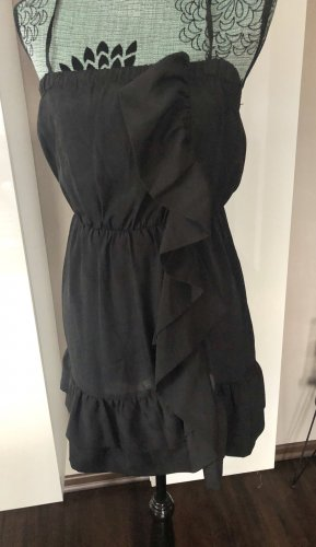 Ann Christine Off-The-Shoulder Dress black