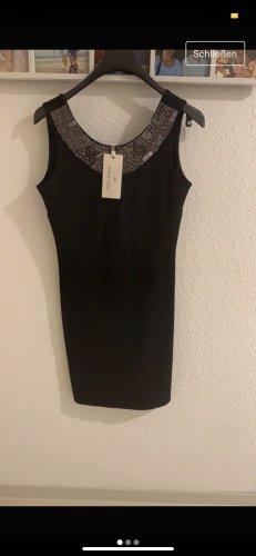 Anna Field Robe courte noir-argenté