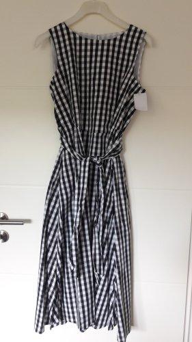 Anne Klein Vestido largo blanco-negro