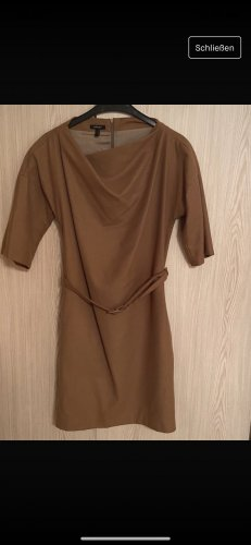 Apart Wollen jurk camel