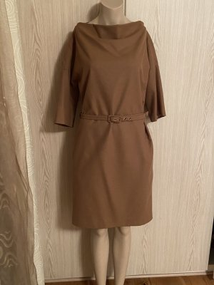Apart Woolen Dress camel