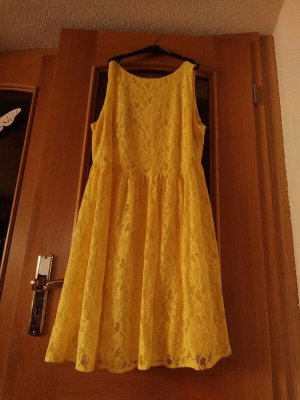 Apart Midi Dress yellow