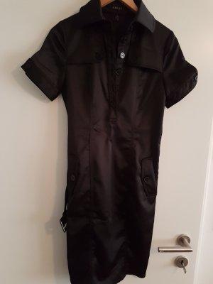 Apart Abito blusa camicia nero