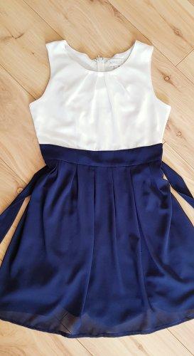 Apricot Chiffon Dress multicolored