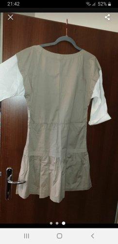 Armani A Line Dress white-beige
