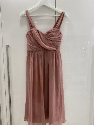 Asos Chiffon jurk stoffig roze