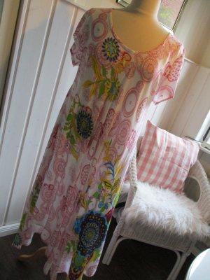 Kleid asymetrisch lang sommerlich leicht