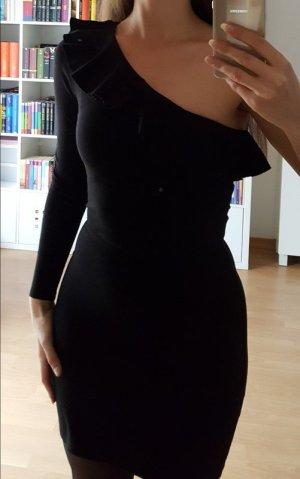 Kleid asymmetrisch H&M Schwarz Größe 36