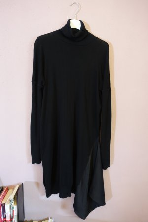 All Saints Longsleeve Dress black mixture fibre