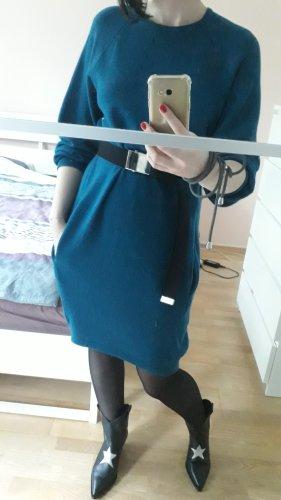 Kora Woolen Dress blue