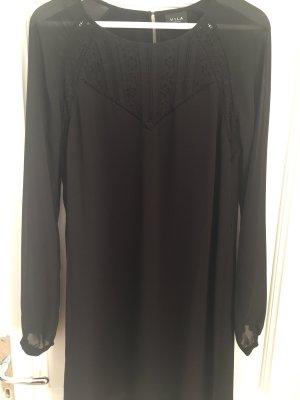 Villa Szyfonowa sukienka czarny